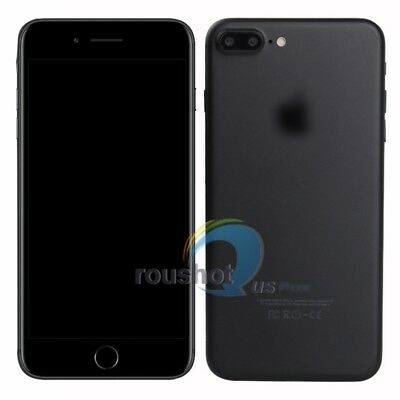Matte/Bright Black Dummy Display Phone Non-Working Fake Model For iPhone 7 Plus
