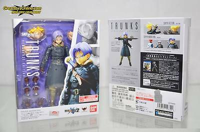 Bandai S.h.figuarts  Dragon Ball Z Trunks Xenoverse Action  Figure 4549660143390