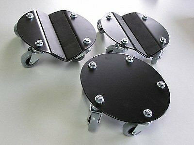 Steel Round Dolly Ski Set