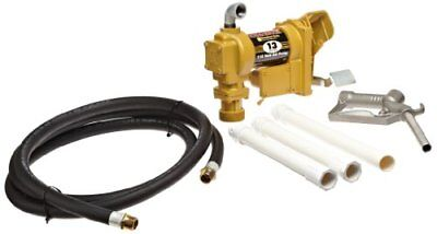 115V AC Pump, Polymer Suction Pipe, 3/4INx12FT Hose, 3/4IN Manual Nozzle