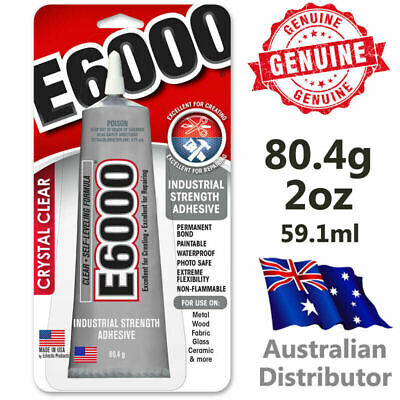 E6000 Industrial Strength Glue Adhesive 3.7oz / 109.4ml - Guaranteed Genuine