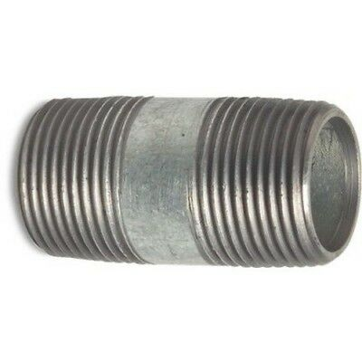 Galvanised Malleable Iron Pipe Fitting Barrel Nipple