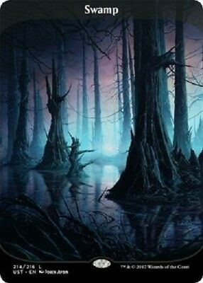 Swamp Full Art Unstable MTG Magic The Gathering