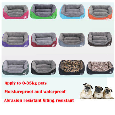 Soft Cozy Pet Cat Dog Bed House Puppy Nest Mat Pad Kennel For Big Dogs