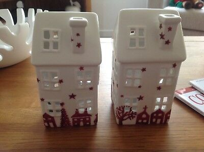 ONE Ceramic House Burner similar to Emma Bridgewater Christmas Town Design.New.