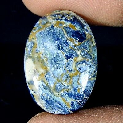 14.00Cts. 100% Natural Pietersite Magnificent Power Fine Gemstone oval Cab