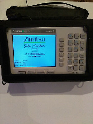ANRITSU SITE MASTER S331D CABLE & ANTENNA ANALYZER w/ OPT 3/29 COLOR SCREEN