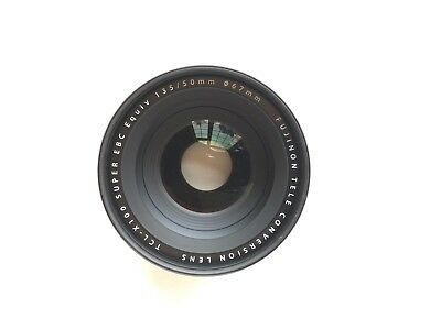 Black Fujifilm TCL-X100 Telephoto Conversion Lens great condition from USA