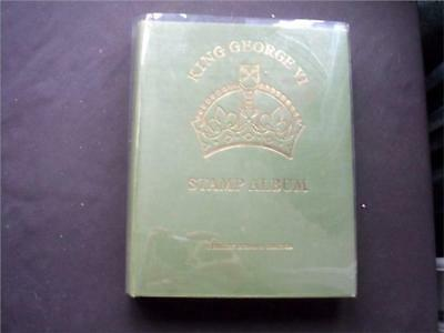 12433aj B. COMM MINT & USED STAMPS COLLECTION IN GOOD USED CONDITION KGVI ALBUM