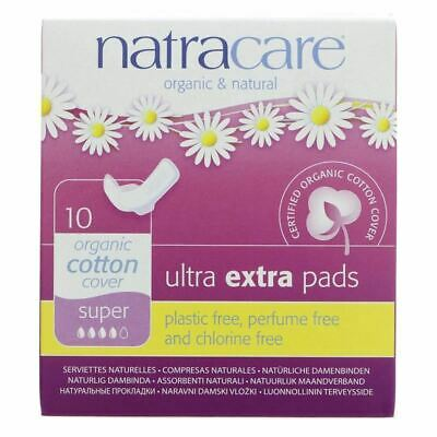 NATRACARE | Ultra Extra Super Pads Winged | 9 x 10