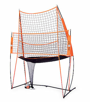 Bownet Portable Volleyball Practice Net Station