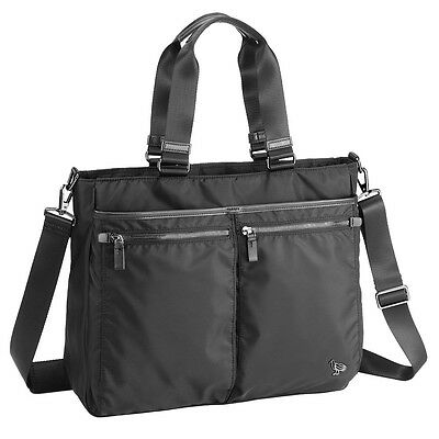 """Sumdex Bag Soft Working Tote - NON-732JB Jet Black for PC Mac Tablet up to 14.1"""""""