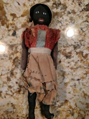Antique African American Doll From Bermuda