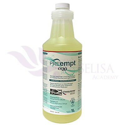 PREempt CS20 Sterilant and High-Level Disinfectant (4 Bottles Of 1L Each)