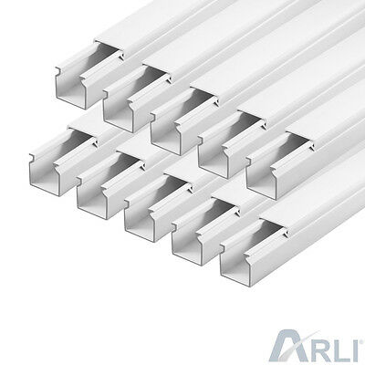 Cable Channel 16 x 16 mm PVC 15 M Tray installationskanal Electric Canal