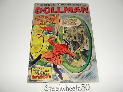 Dollman #11 Comic Quality 1964 Quarterly Golden Age Super Reprint Nemo Black HTF