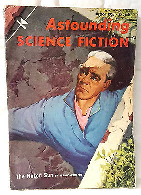 Astounding science fiction - US magagazine. October 1956