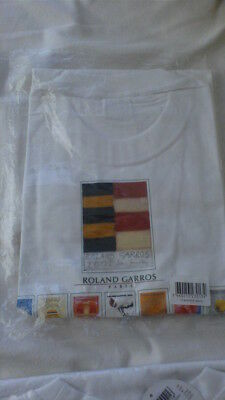 FRENCH OPEN, OFFICIAL T  SHIRT  2001(Mens  large)  - Brand new in packaging
