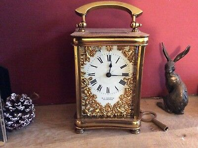Victorian French Carrage clock