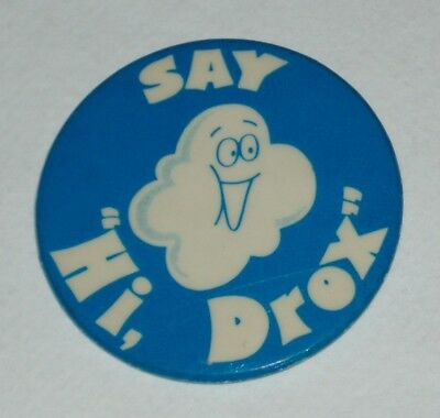1970's Hydrox Cookies Advertising Character button