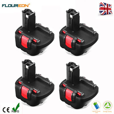 4x 12V 3.0Ah Battery For Bosch BAT043 BAT045 3360 3455 GSB GSR PSR PAG 12VE-2 UK
