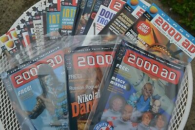 2000 AD & JUDGE DREDD Magazines from the 80's/90's ' See description and choose!
