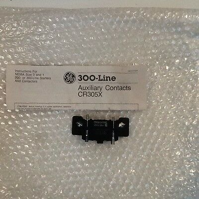 GE Auxiliary Contact CR305X100E