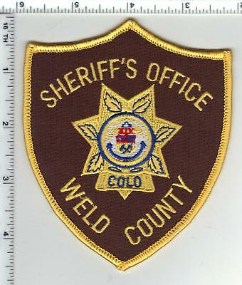 Weld County Sheriff's Office (Colorado) Shoulder Patch - new