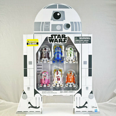 Star Wars Astromech Droid Pack EE Exclusive