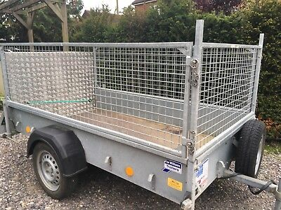 Ifor Williams P7E Trailer with Mesh Sides, In Good Used Condition