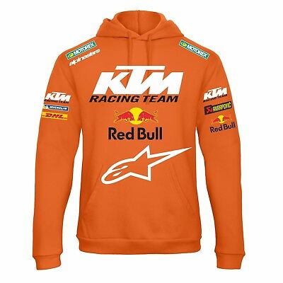 FELPA KTM RED BULL SWEATSHIRT RACING ENDURO MOTO GP michelin replica FANS