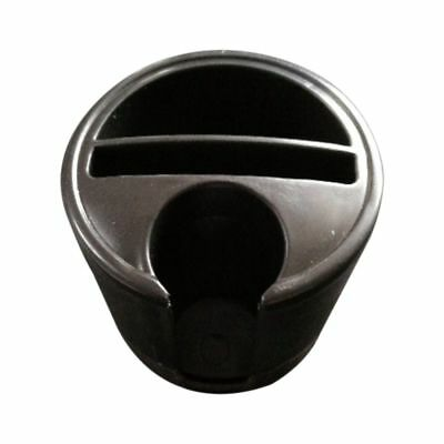 3X(New black universal vehicle mounted cup-shaped multifunctional storage c P6Z2