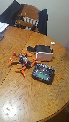 Ready to Fly Modified Eachine Wizard X220 FPV Racing Drone