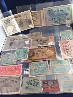 Vintage lot of Foreign World Currency Paper Money German Japan Croatia