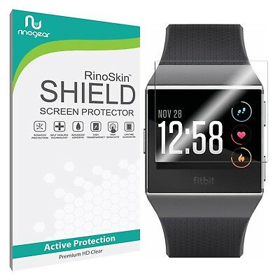 [8-PACK] RinoGear Screen Protector for Fitbit Ionic (Active Clear Shield)