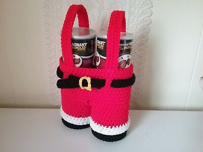 "Handcrafted ""santa Pants Gift Holder"" (New)"