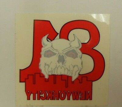 OFFICIAL HELLS ANGELS Support 81 NEW YORK CITY Window sticker