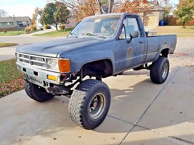 1985 Toyota Tacoma SR5 1985 Toyota Pickup Only 3 Owners!