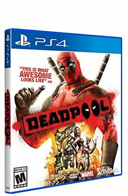 Deadpool PlayStation 4 Ps4 Games Sony Factory Sealed Activision 2015 Brand F/S F
