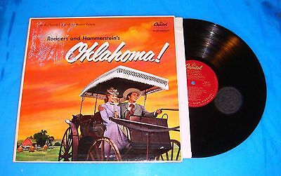 VINTAGE - LP!!  Lot of 3 RODGERS & HAMMERSTEIN; S.Pac;Okla;King  R-G+-EXC: J-Pwd