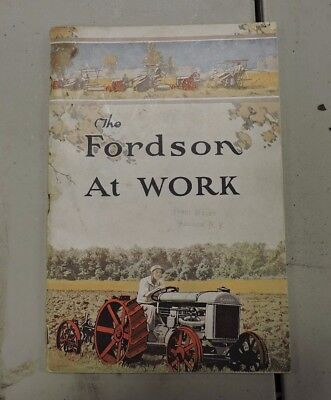 Original Fordson Ford Farming Tractor Book, 1921, Addison NY, 1 of 4, (VE) KCK