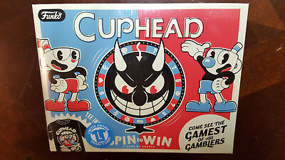 CupHead Funko Pop Shirt Large New