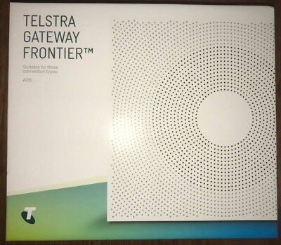 NBN Telstra gateway frontier modem