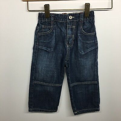 Burberry Size 12 Month Infant, Baby Jeans 5 Pockets, Zipper And Button