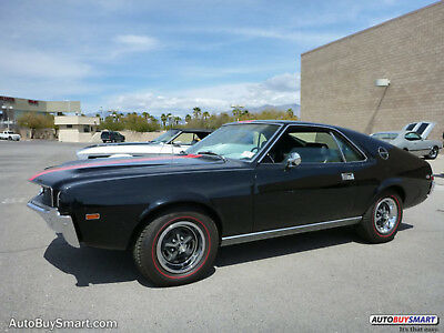 1968 AMC AMX amx 1968 Black!