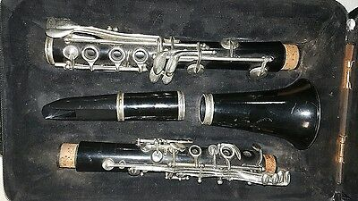 Vintage clarinet Besson made in London #198997 1940s