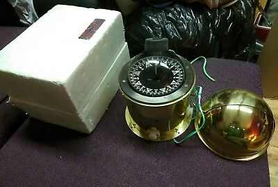 Weather Measure Brass Marine Maritime Nautical Compass NEW IN PACKAGE RARE NOS