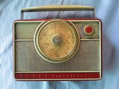 Vintage Astor Radio,  Transistor 7, Not Tested, Australian Made,