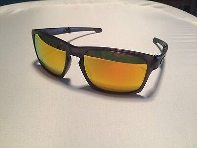 84cf27fb02 NEW Oakley Sliver F Foldable Matte Olive Ink Fire Polarized Sunglasses  OO9246-16