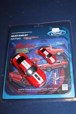 Road Race Legends Mustang Gt  Mouse 16Gb Usb Stick Pad Gift Pack